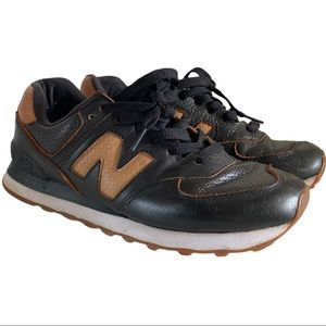 New Balance 574 Classic black brown size 9 used